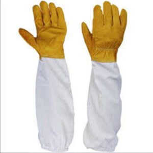 Goatskin Bee Keeping Vented Long Sleeves Gloves