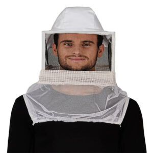 Beekeeping Veil with Square Hat