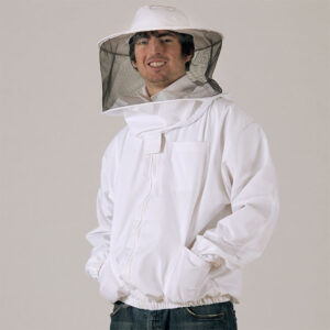 Heavy-Duty Bee Jacket with Round Veil